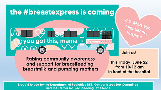 Raising community awareness and support for breastfeeding