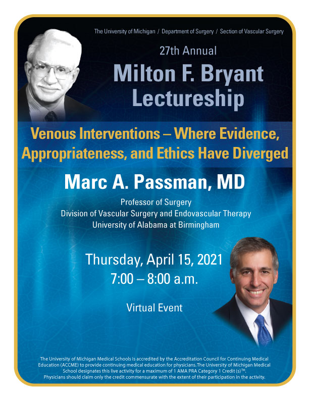 Bryant Lecture Flyer