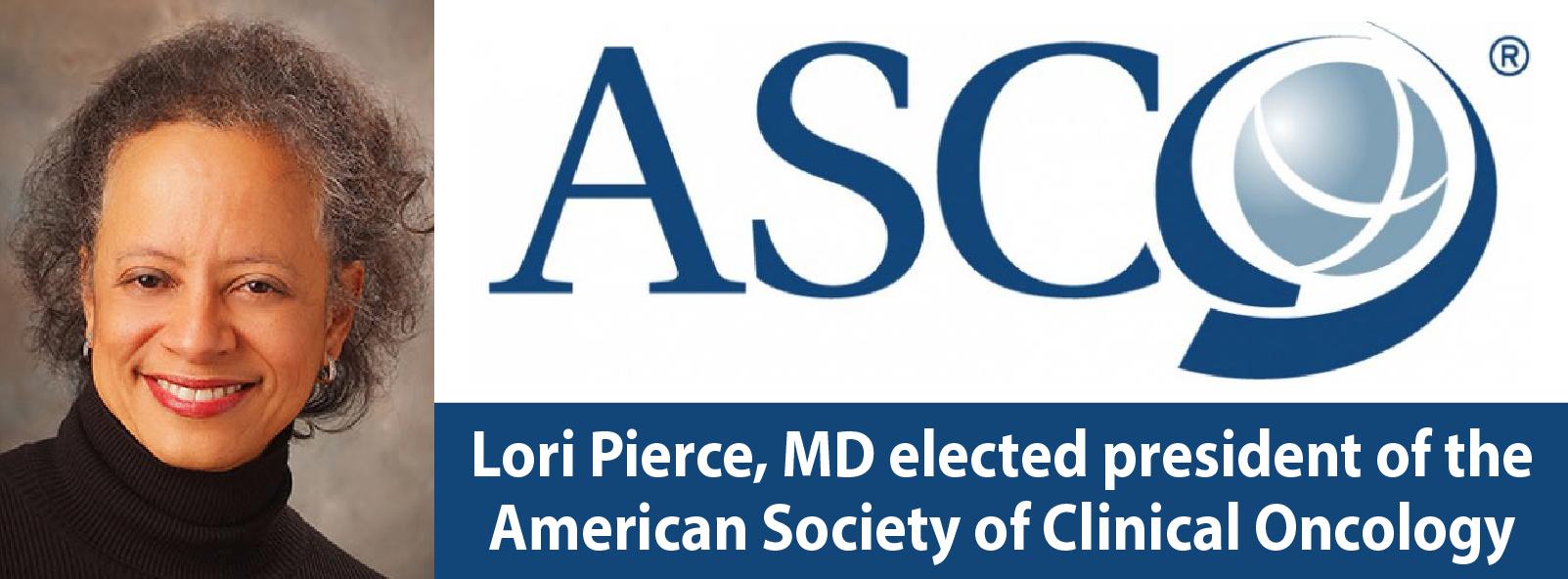 ASCO president Lori Pierce