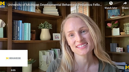 Fellows in Developmental Behavioral Pediatrics