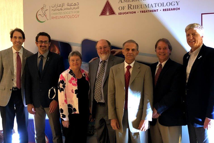 Emirates Society of Rheumatology and American College of Rheumatology meeting in Dubai