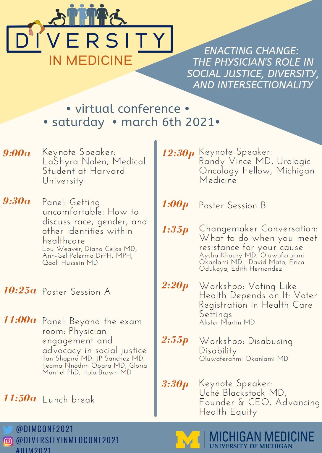 2021 DiM Conference Agenda