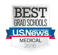 US News & World Report Best Graduate Schools 2016 Logo