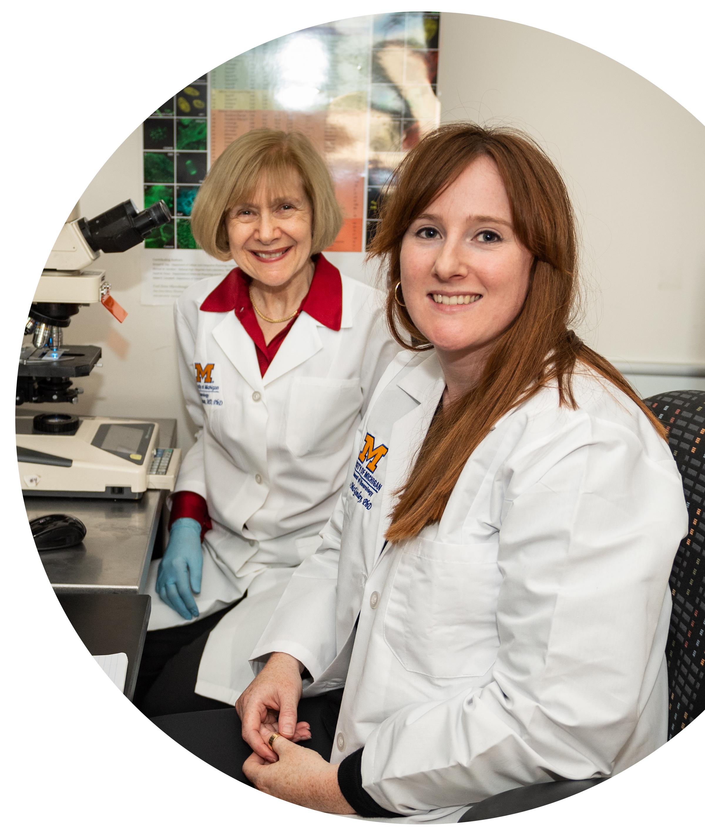 Drs. Eva Feldman and Lisa McGinley