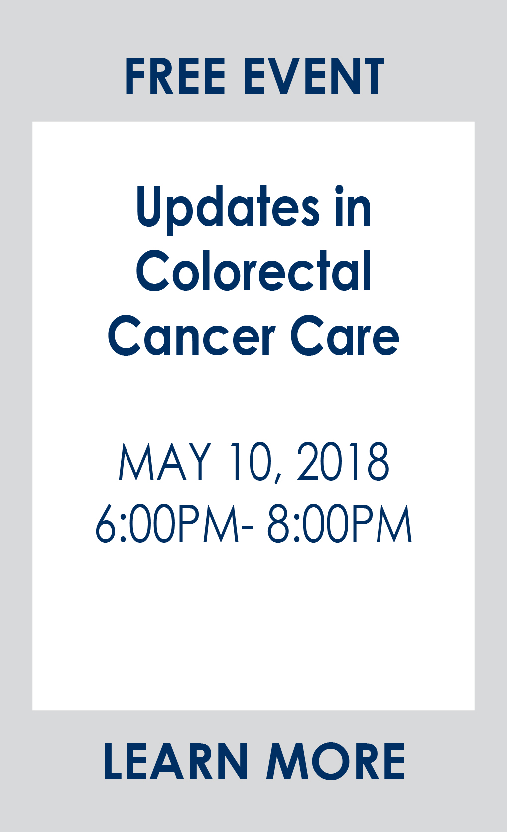 Updates in Colorectal Cancer Care