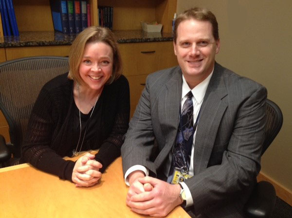 U-M Division of Internal Medicine Jolena Nollar and Eric Mullen