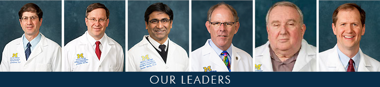 U-M Hematology & Oncology Division Leadership