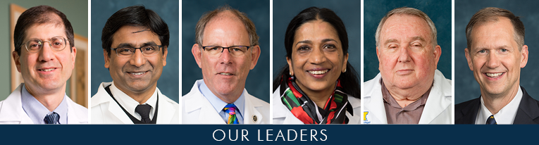 U-M Hematology & Oncology Division Leadership