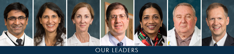 Division of Hematology & Oncology Leadership