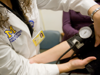 U-M Hematology and Oncology Division, Taking Blood Pressure