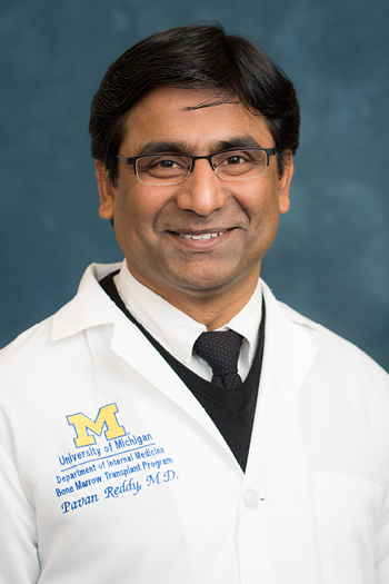 U-M Hematology & Oncology Division, Dr. Pavan Reddy