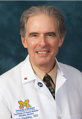 U-M Infectious Diseases Division, N. Cary Engleberg, MD, DTMH