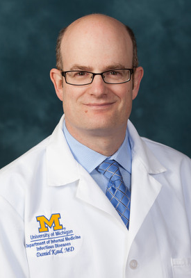 U-M Infectious Diseases Division, Daniel Kaul, MD