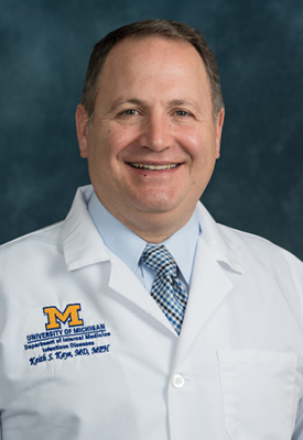 U-M Infectious Diseases Division, Keith Kaye, MD, MPH