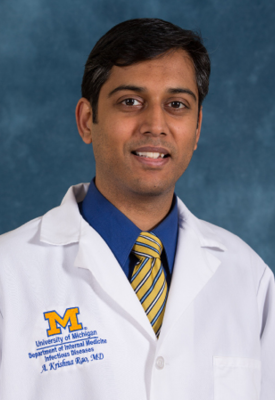 U-M Infectious Diseases Division, Krishna Rao, MD