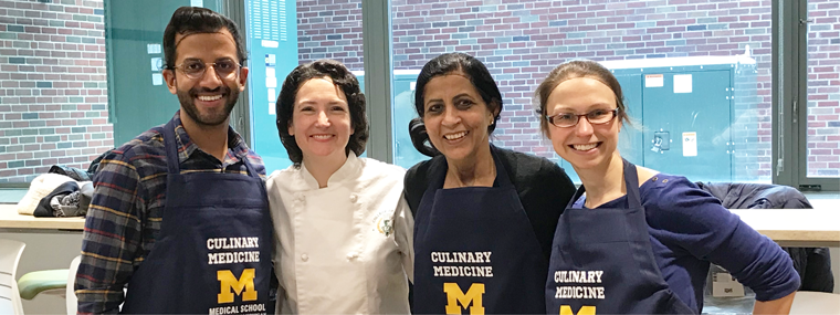 U-M Culinary Medicine Course - Faculty and Fellows