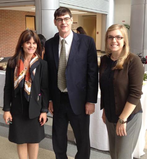 John Floyd Memorial Lecture - Dr. Lisa Nachtigall, John Floyd Jr., and Dr. Joye Petr