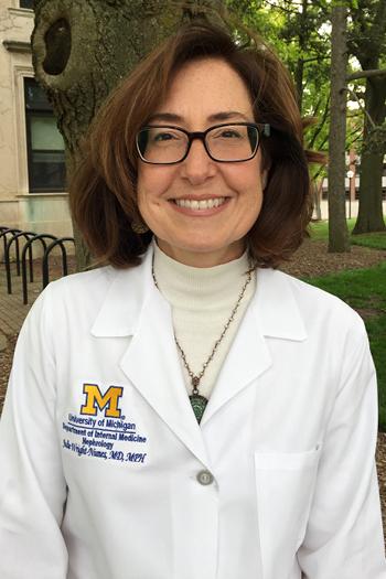 U-M Division of Nephrology, Dr. Julie Wright Nunes
