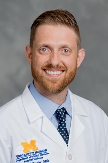 U-M Division of Hospital Medicine, Dr. Daniel Giesler