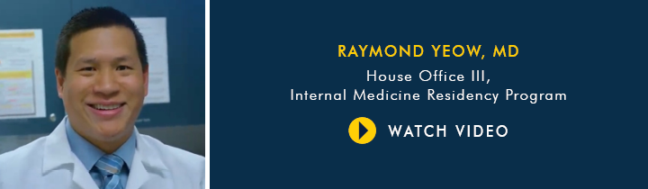 Why Choose U-M Internal Medicine Residency Program, Dr. Raymond Yeow