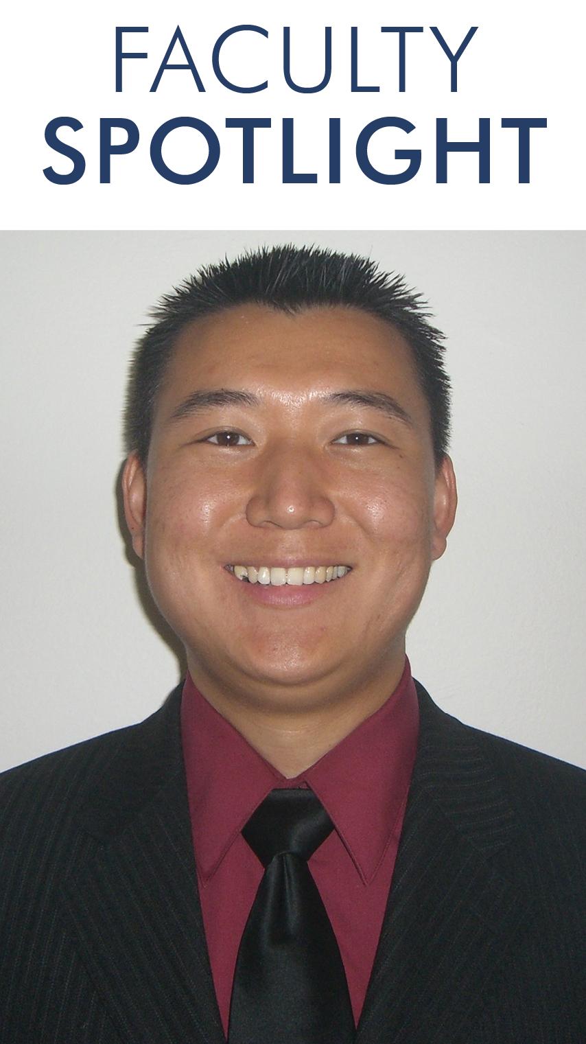 Faculty Spotlight - Ray Zuo, MD