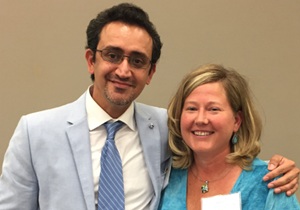 U-M Scleroderma Program, Sheri Hicks & Dr. Khanna