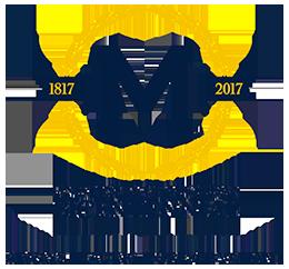 U-M bicentennial logo
