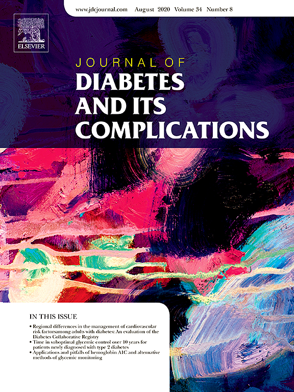 cover of Journal of Diabetes and its Complications