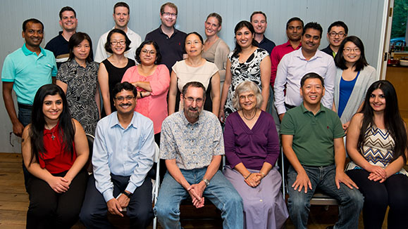 Image of Lawrence Lab group