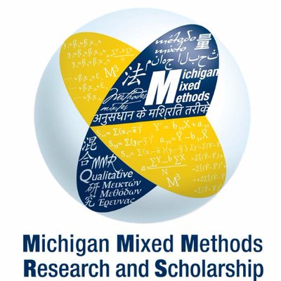 michigan mixed methods research and scholarship program logo