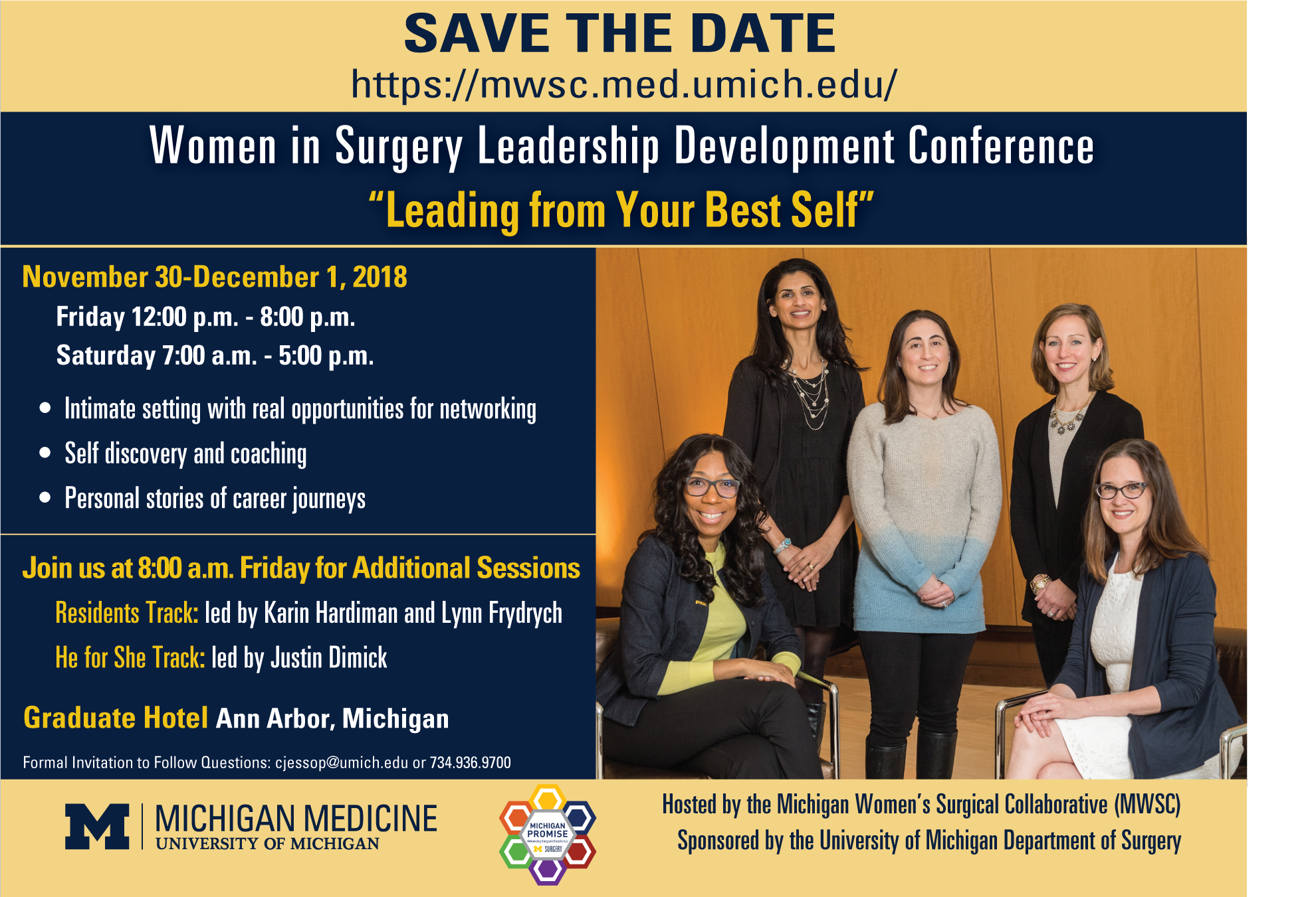 MWSC 2018 Conference Save the Date