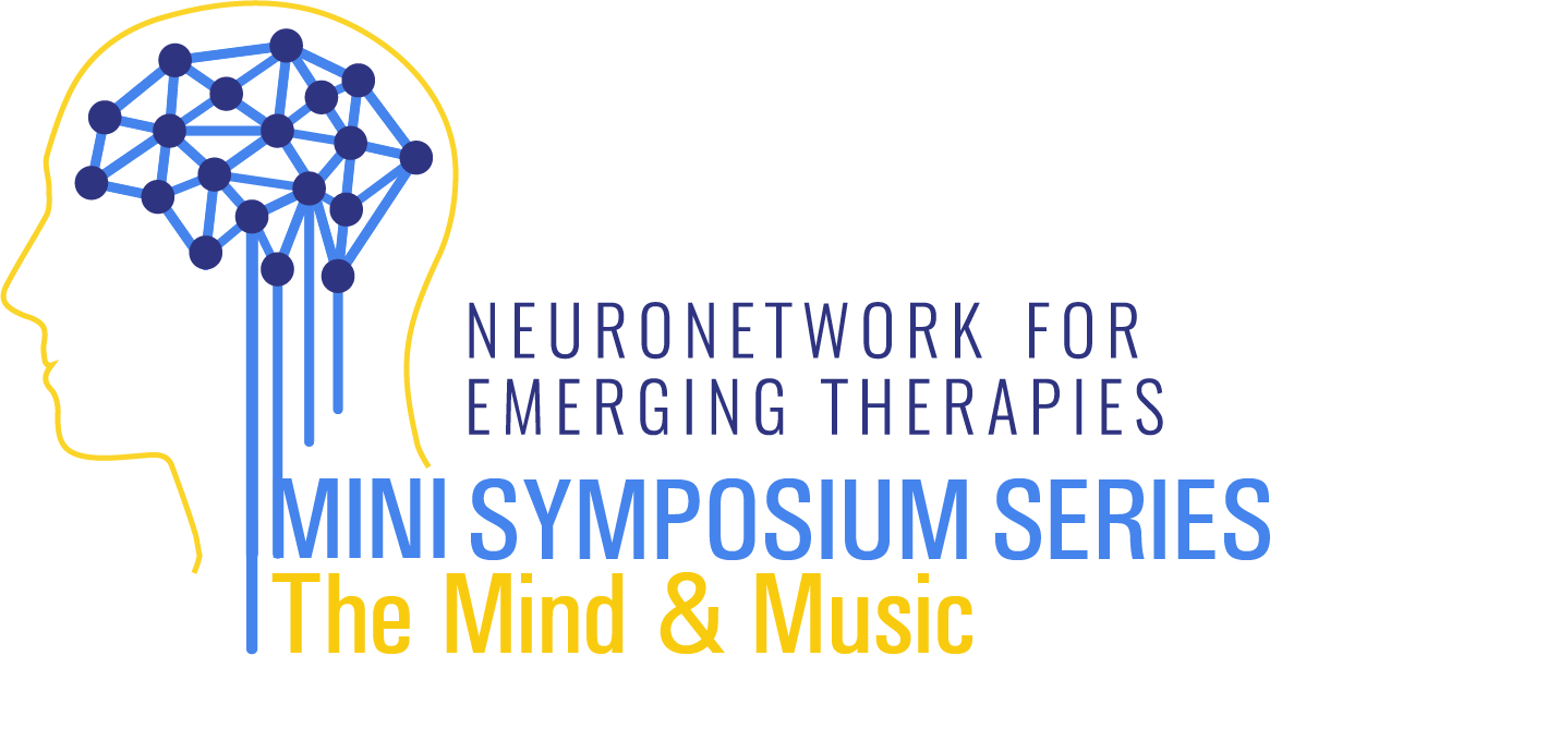 logo of the NeuroNetwork for Emerging Therapies Mini Symposium Series: The Mind & Music