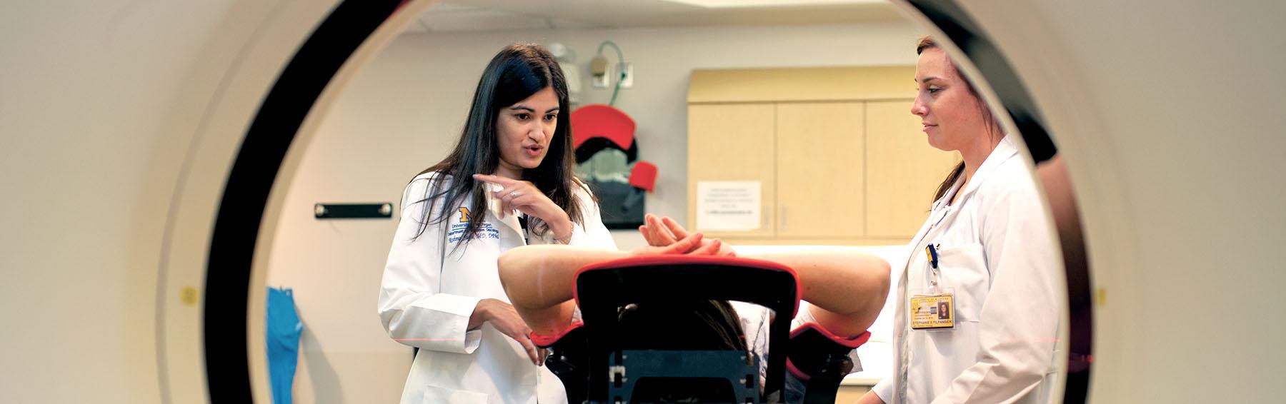 Reshma Jagsi in clinic