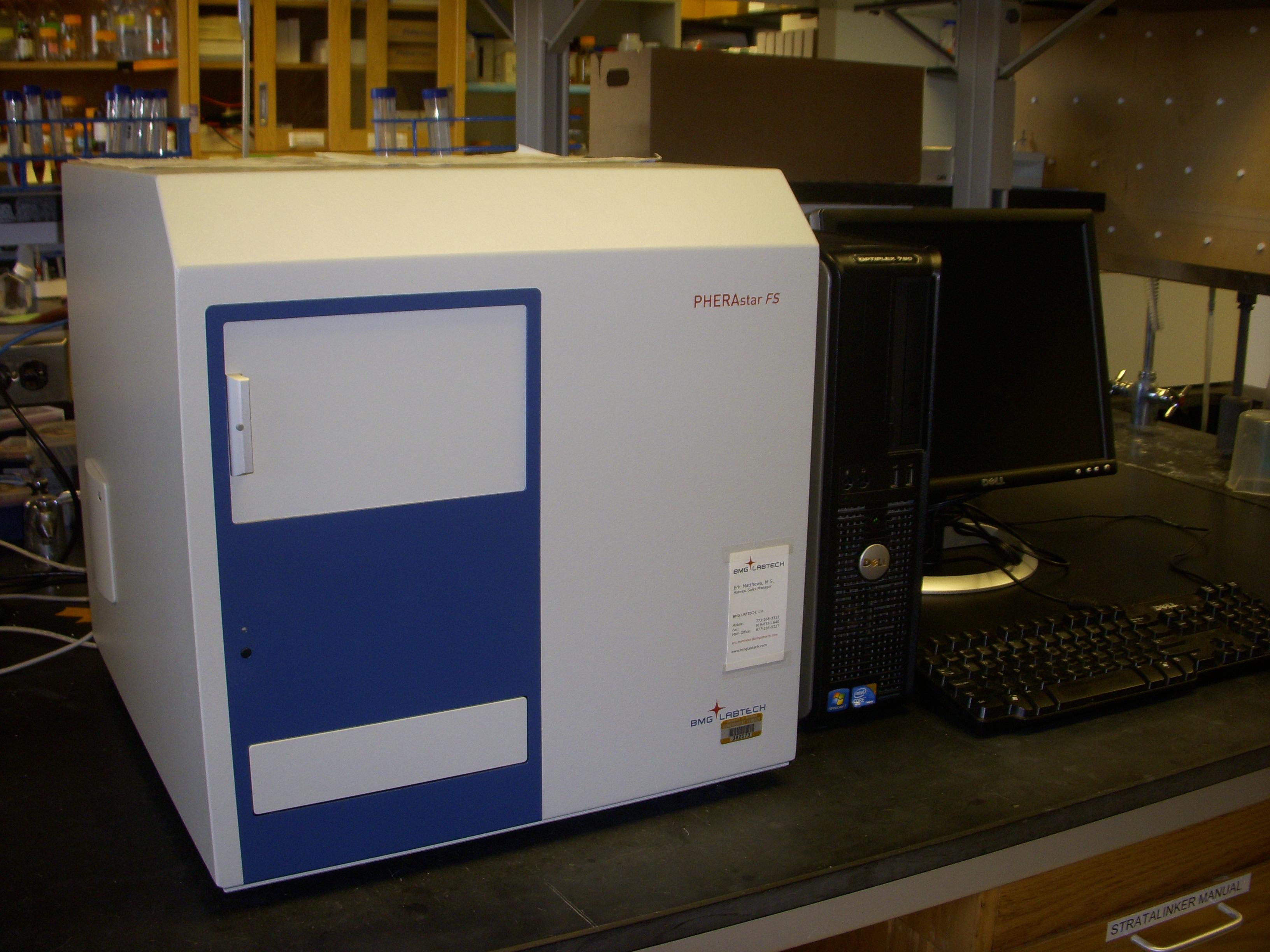 PHERAstar FS Microplate Reader