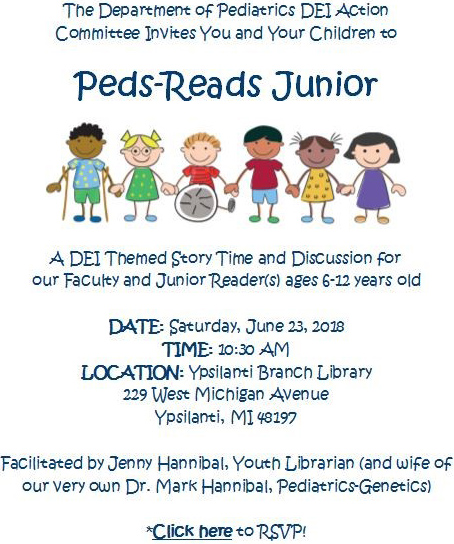 Peds Reads Junior