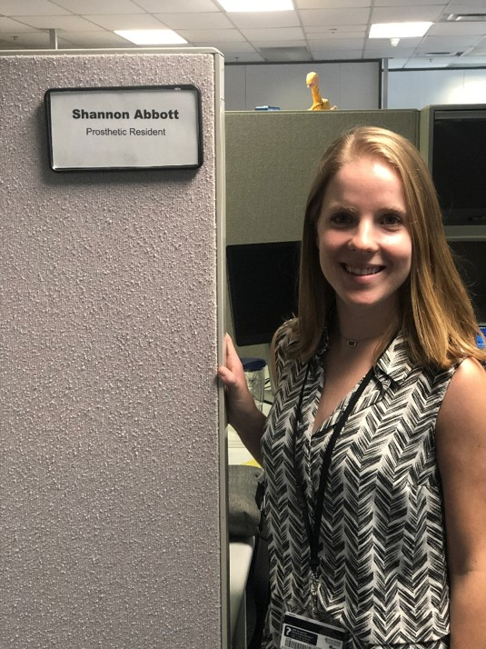 Shannon Abbott, Prosthetic Resident