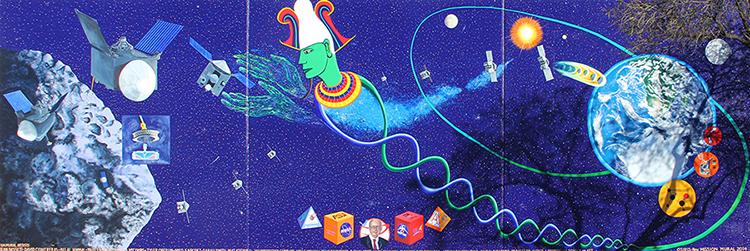 Mural at the University of Arizona