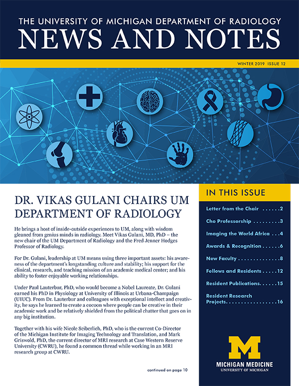 Radiology Newsletter Fall 2019