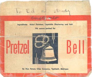 Pretzel Bell Card (front)