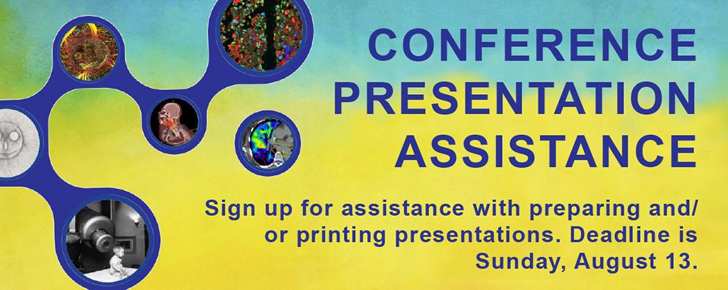 Presentation assistance sign up