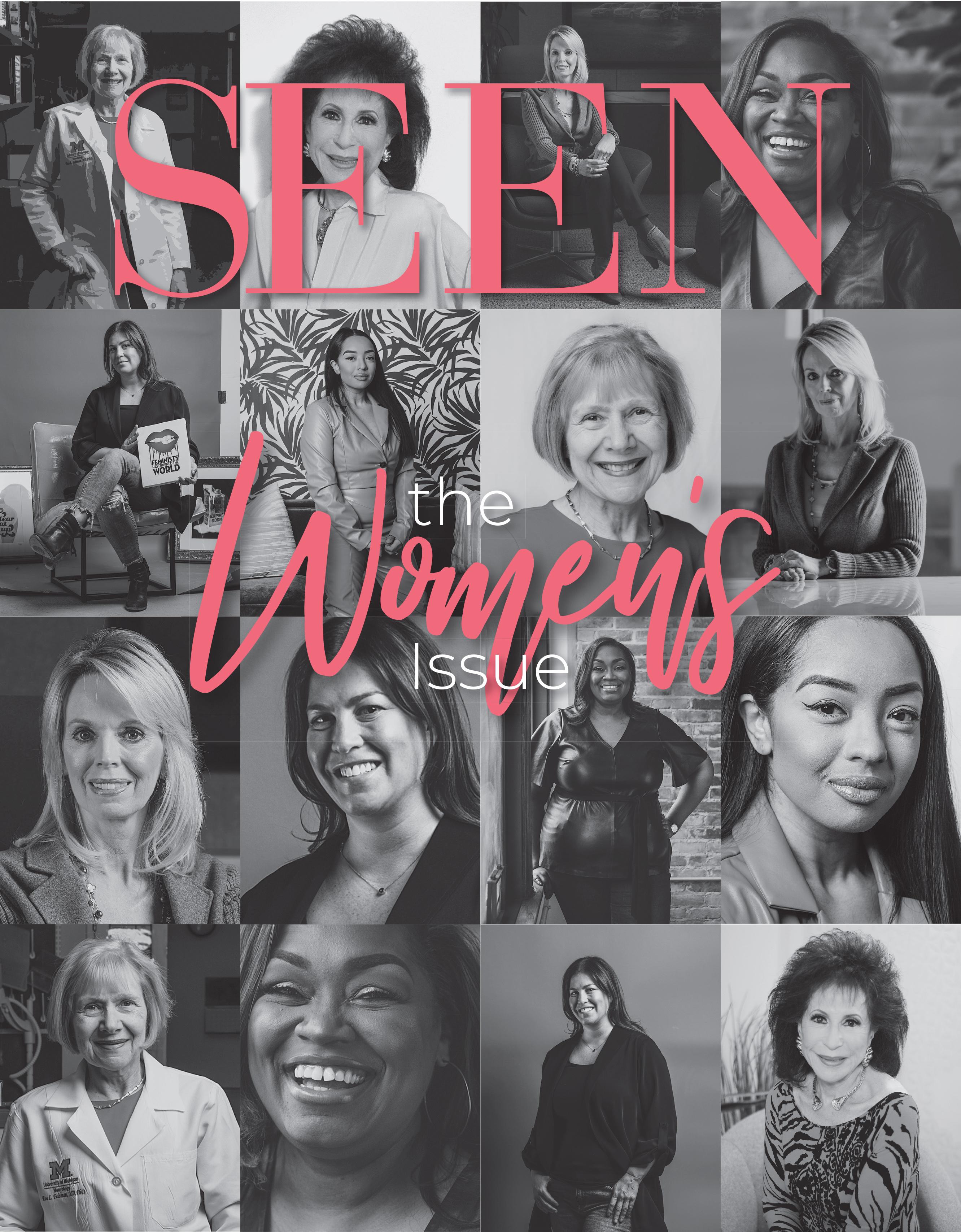 SEEN Magazine Cover featuring Dr. Eva Feldman