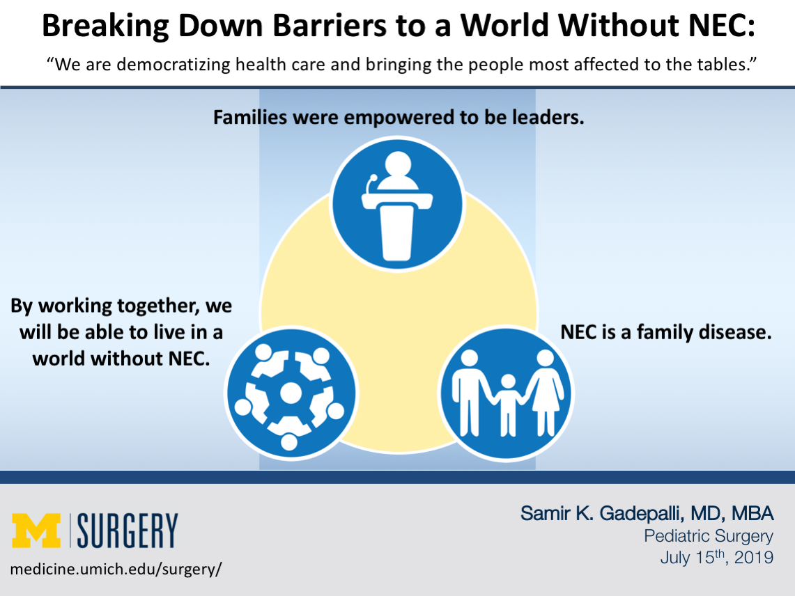 Breaking Down Barriers to a World Without NEC Visual Abstract