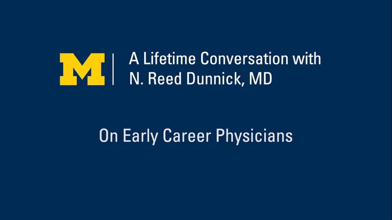 On Early Career Physicians
