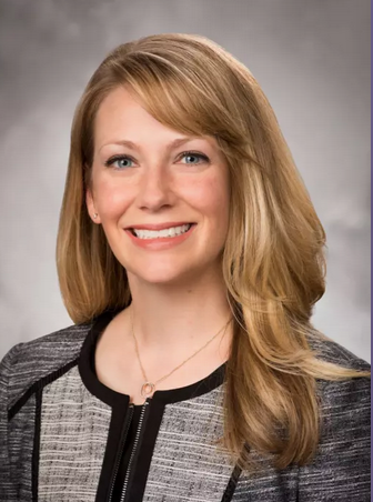 Photo of Kristine Cece, M.D.,  Ph.D., associate director of the residency program at for the family residency program at St. Joseph Mercy Livingston