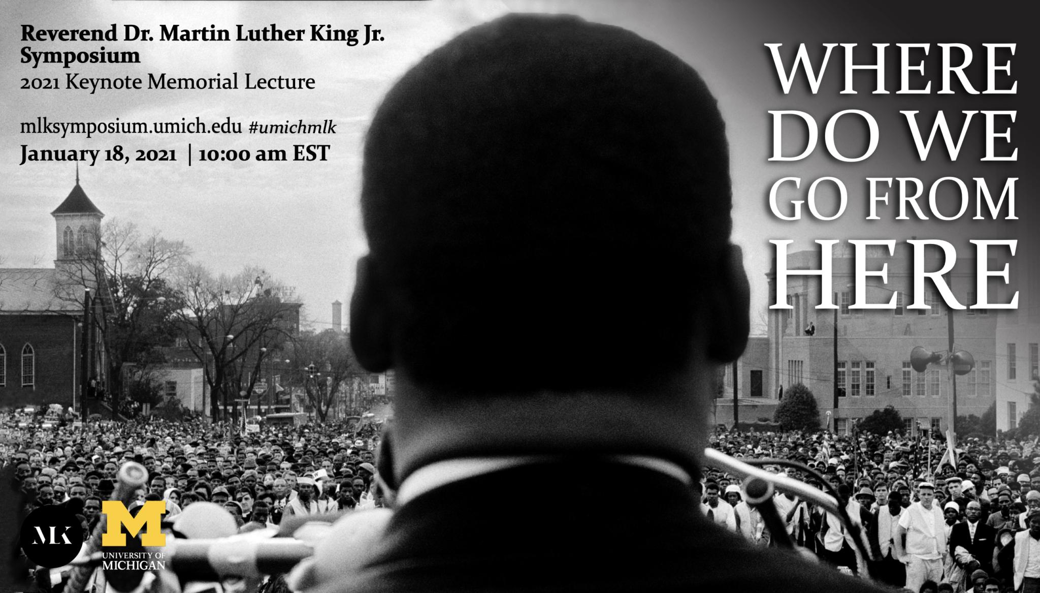 MLK Symposium 2021 Memorial Keynote Lecture
