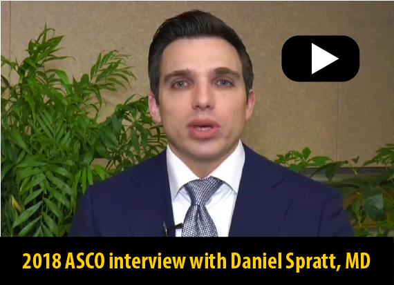 2018 ASCO interview with Dr Spratt