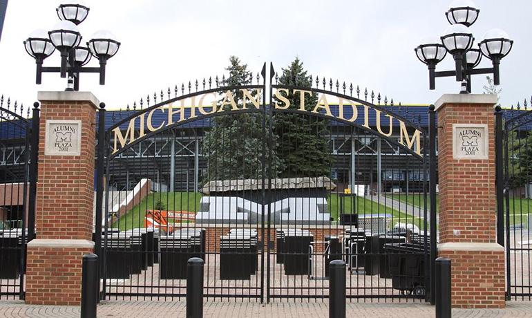 Entrance of Michigan Stadium