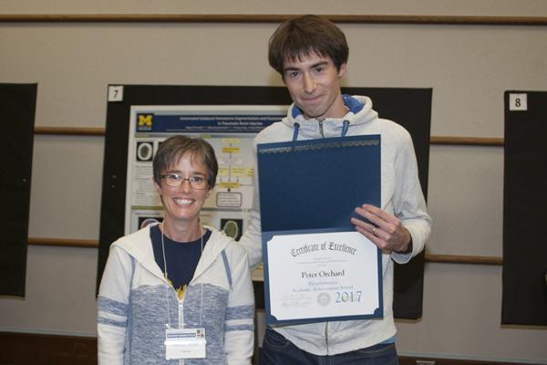 Bioinformatics Academic Achievement Award – Peter Orchard