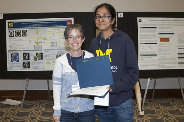 Bioinformatics Student Service Award – Shweta Ramdas