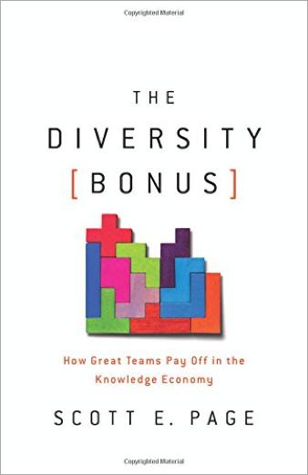 The Diversity Bonus by Scott E. Page book cover